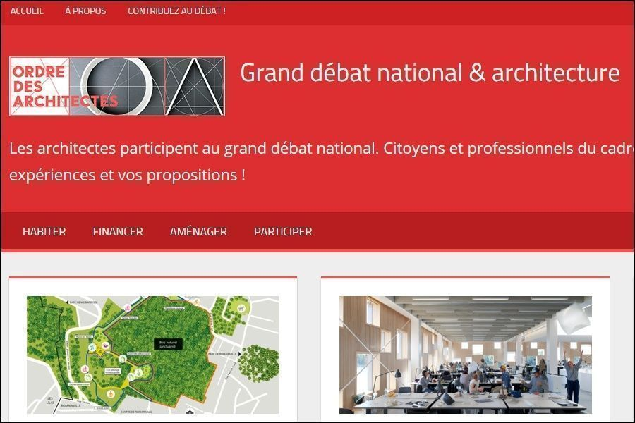 Le grand débat? architectural ?