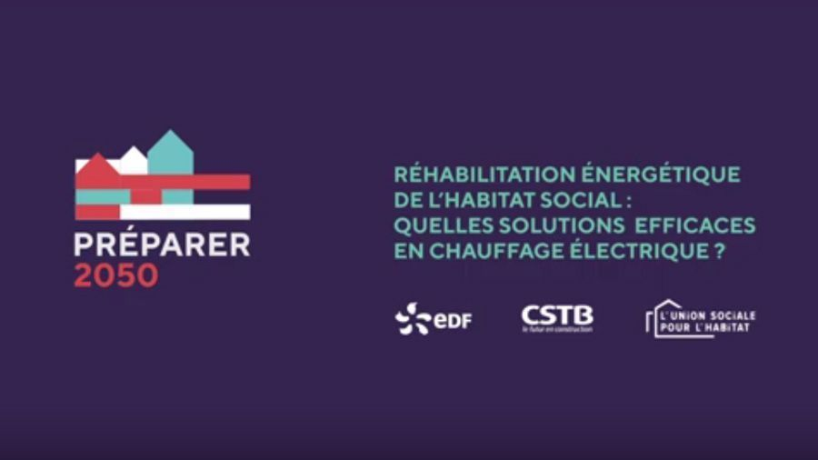 Réhabilitation énergétique de l'habitat social : quelles solutions efficaces en chauffage électrique?