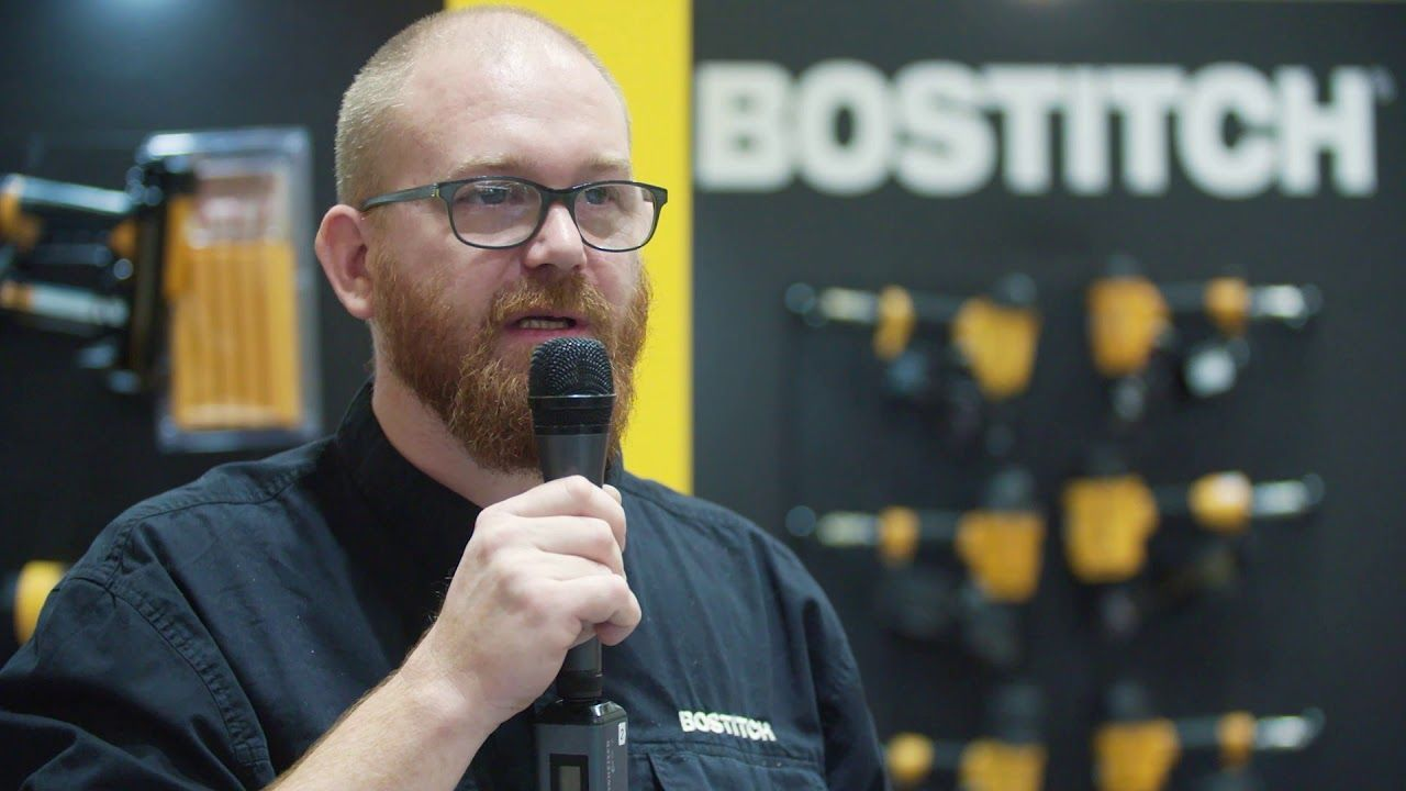 Interview de Thomas Lubera, Technicien chez Bostitch – BATIMAT 2019
