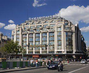 Au dessus des boutiques de luxe de La Samaritaine, logement social avec vue sur Paris