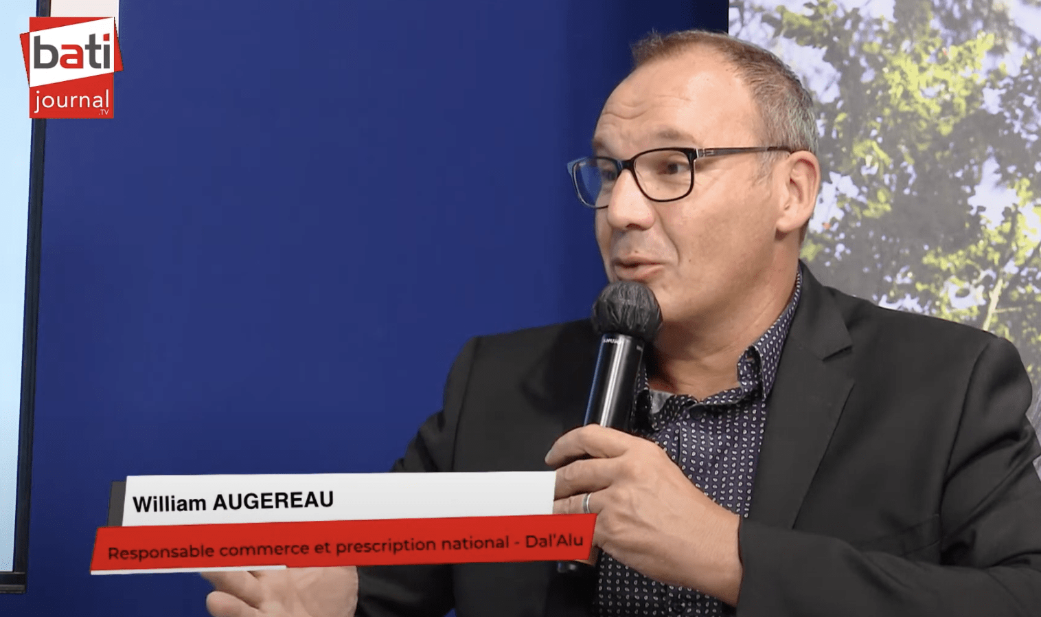 Entretien avec William Augereau, Responsable commerce et prescription national chez Dal'Alu