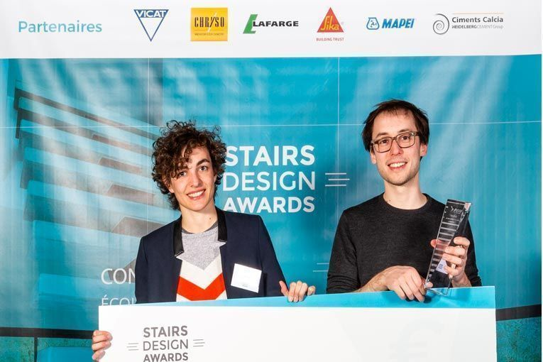 Stairs Design Awards #2, un concours innovant d'escaliers