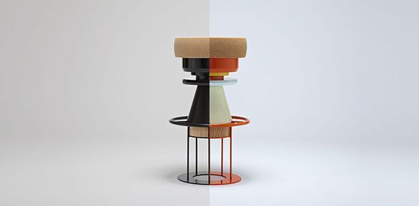 Note Design Studio : Tabourets Bolt et Tembo