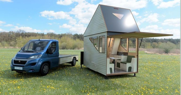 Haaks Opperland Campervan : une cabine de tiny house transportable