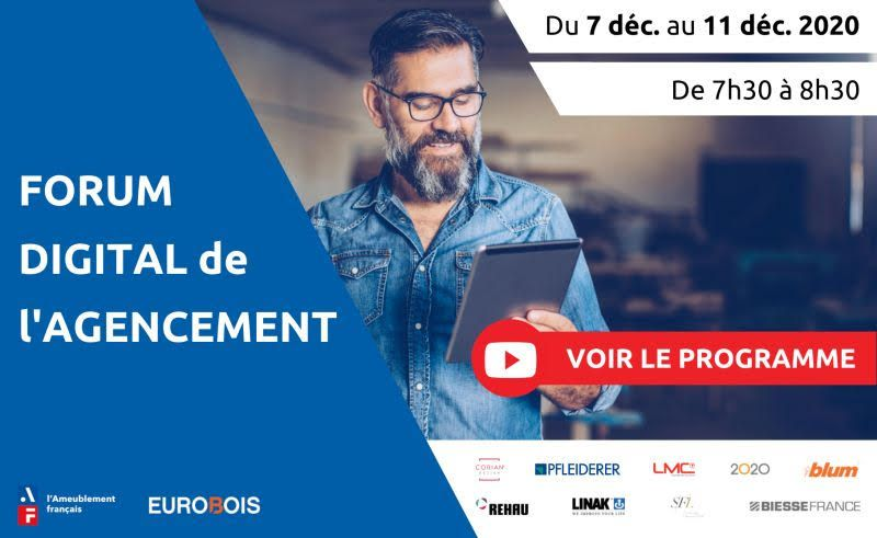 Le Forum digital de l'Agencement